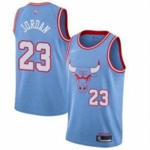 Chicago Bulls Michael Jordan City Jersey-L-XXL